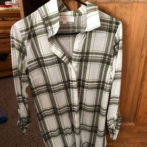 Tops - Long flannel